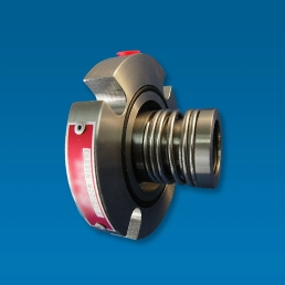 A factory assembled, pressure tested, single spring cartridge seal suitable for abrasive applications and sewage pumps.
