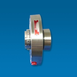 Multi spring stationary balanced seal that handles high temperature, high pressure hot water applications. Has flush, quench, and drain ports. Specifically designed to run at boiler feed water temperatures without need for external cooling.
