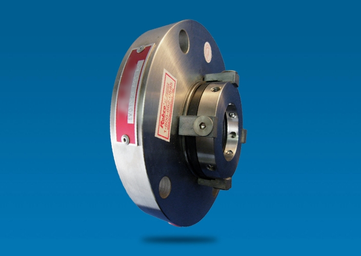 Outside mounted, single, stationary seal design (no stuffing box required). Engineered for abnormal shaft movement. Hydraulically balanced for self-adjustment to pressure surges. Springs are isolated from pumped product to eliminate clogging.