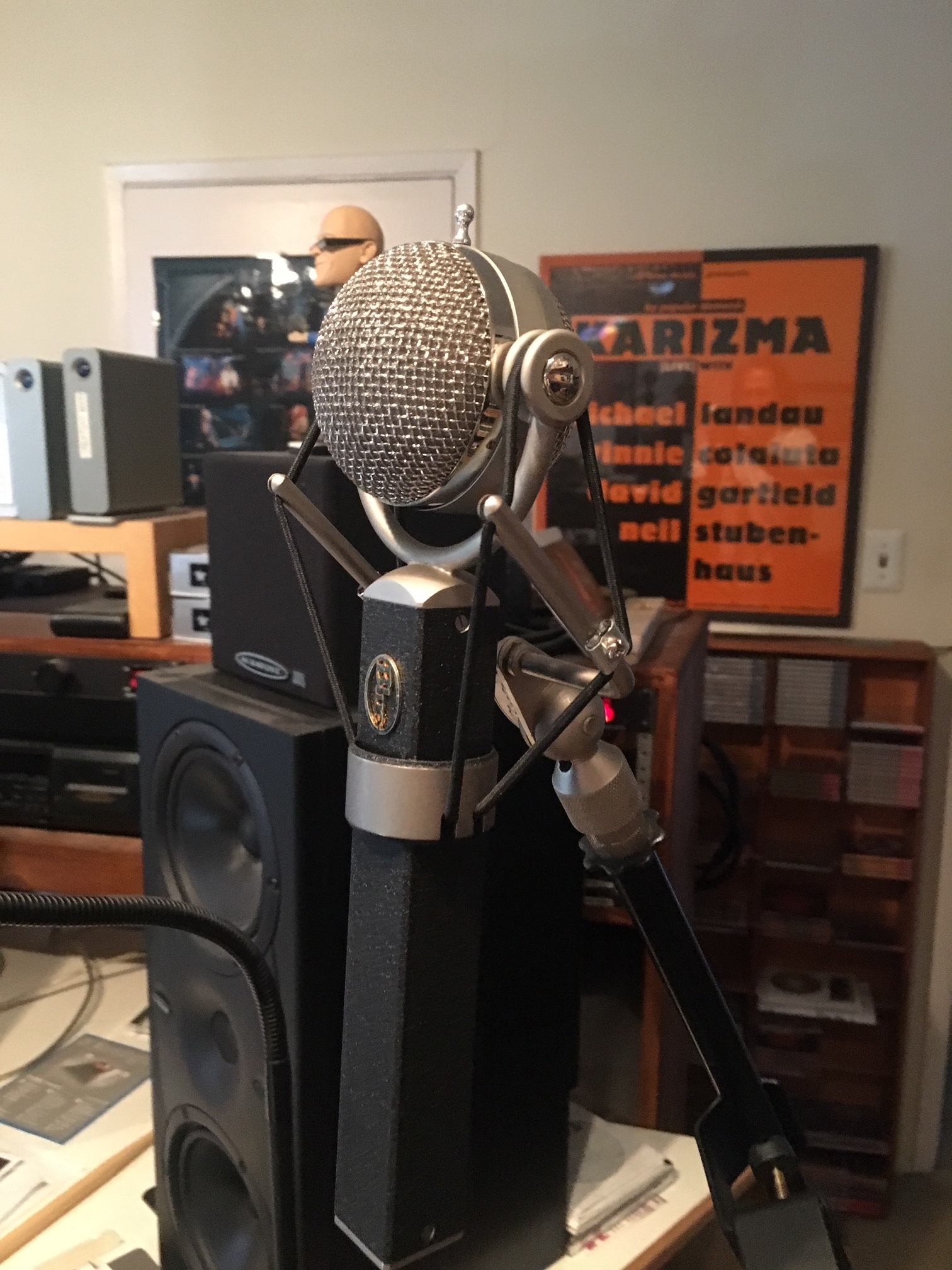 Blue Dragonfly mic
