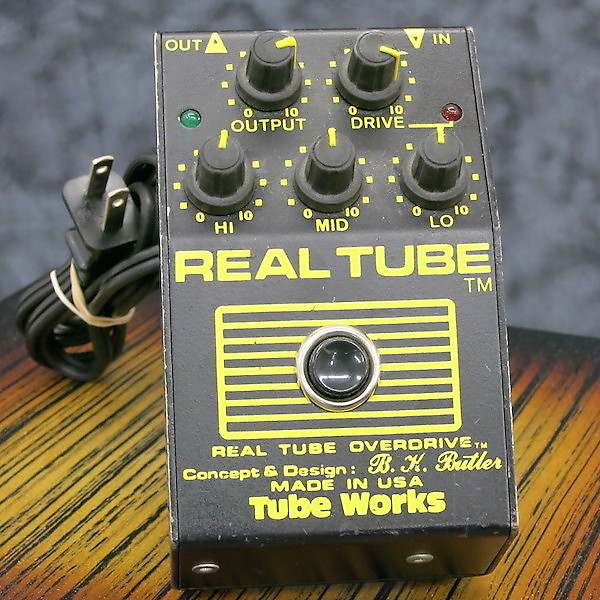 I used one of these at The Dust Brothers studio in LA around 90/91. It was actually Money Mark's! I bought this straight after at The Guitar Center on Sunset BL. Get's a lot of use on Young Gun Silver Fox for slightly over driven leads.