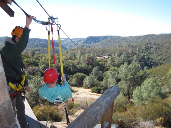 Moaning Caverns - Zip Line - Length: 1,500 Feet of Fun