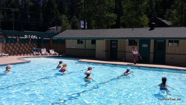 Big Trees Fitness Pool:   About 4 minutes from Pinecone Hollow and located in our very own Meadowmont Subdivision  Address:   2116 CA Highway 4, Arnold