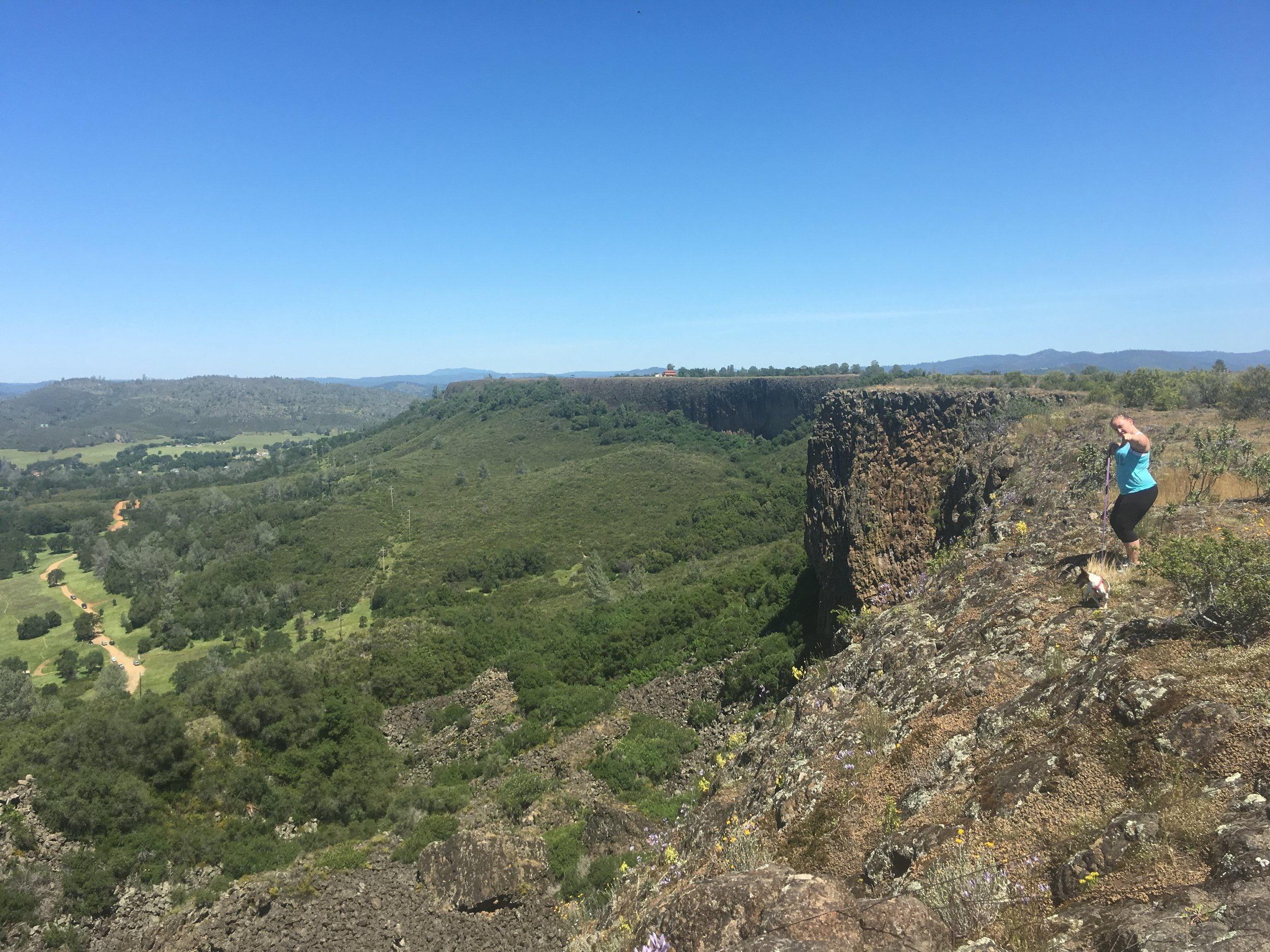 Top of Table Mountain - Overlooking Melones Lake from the South side of the Lake via Jamestown.