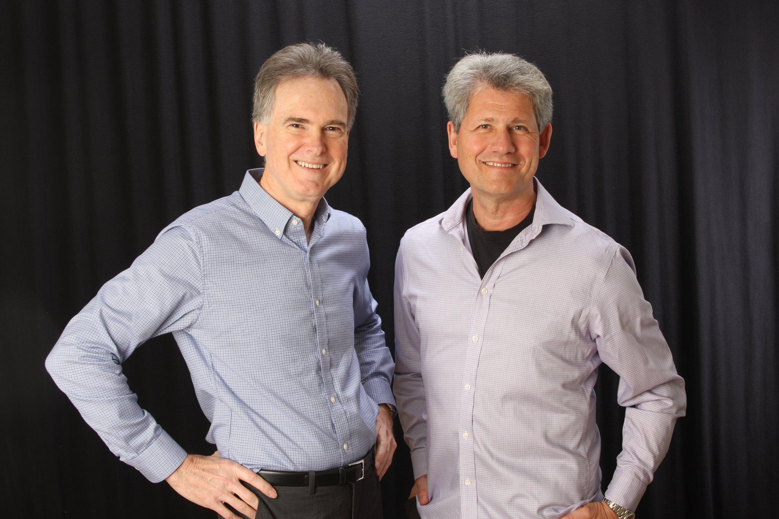Alan and Denis
