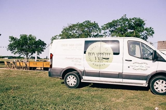 This beauty has seen it all. Weddings, catering events, farm to table dinners, and more. Where you see our van, there is guaranteed to be good food and a good time. 😉⁠ .⁠ .⁠ .⁠ .⁠ .⁠ #northdallasevents #northtexasevents #northtexascatering #northtexascaterer #northdallascatering #northdallascaterer #catering ⁠  #caterer #weddingcatering #eventplanner #eventcatering #eventplanning #cateringservice