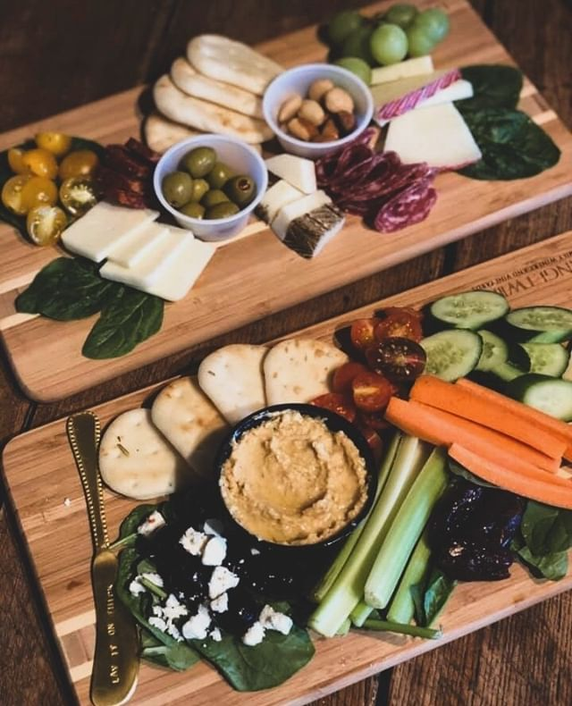 Okay, here's an idea..instead of sharing one board, you get TWO and share! Each board is deliciously different, why miss out?⁠ Tag a friend you'd want to lunch with at Bay Cafe!⁠ .⁠ .⁠ .⁠ .⁠ .⁠ #gatheredstyle #lifewithfriends⁠ #gardendinner #gardentotable #farmtotable⁠ #storyofmytable #cooktogether #lunchwithfriends #thehappynow #darlingmovement #gatheringplace #gatherandfeast #lunchtogether #eattogether #gather #lunchtable #livesimply #nestandflourish #nothingisordinary #livethelittlethings #theartofslowliving #gathering #reallifegoals #seeyourself #choosejoy #youcandothis #liveunscripted #finditliveit⁠ #thelifeyoulove #lifelivedbeautifully⁠