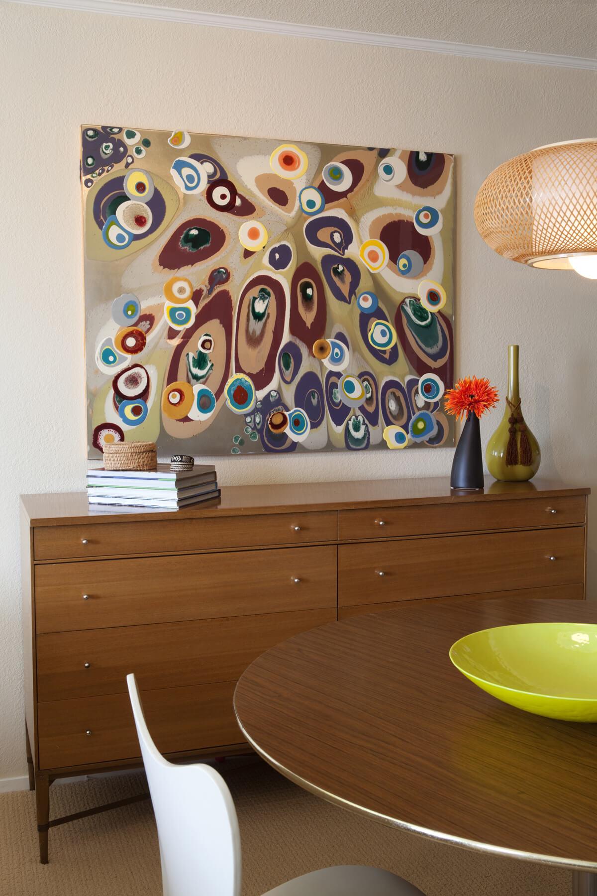 Dining Room Mid-Century Modern Jennifer Gustafson SF Bay Designer