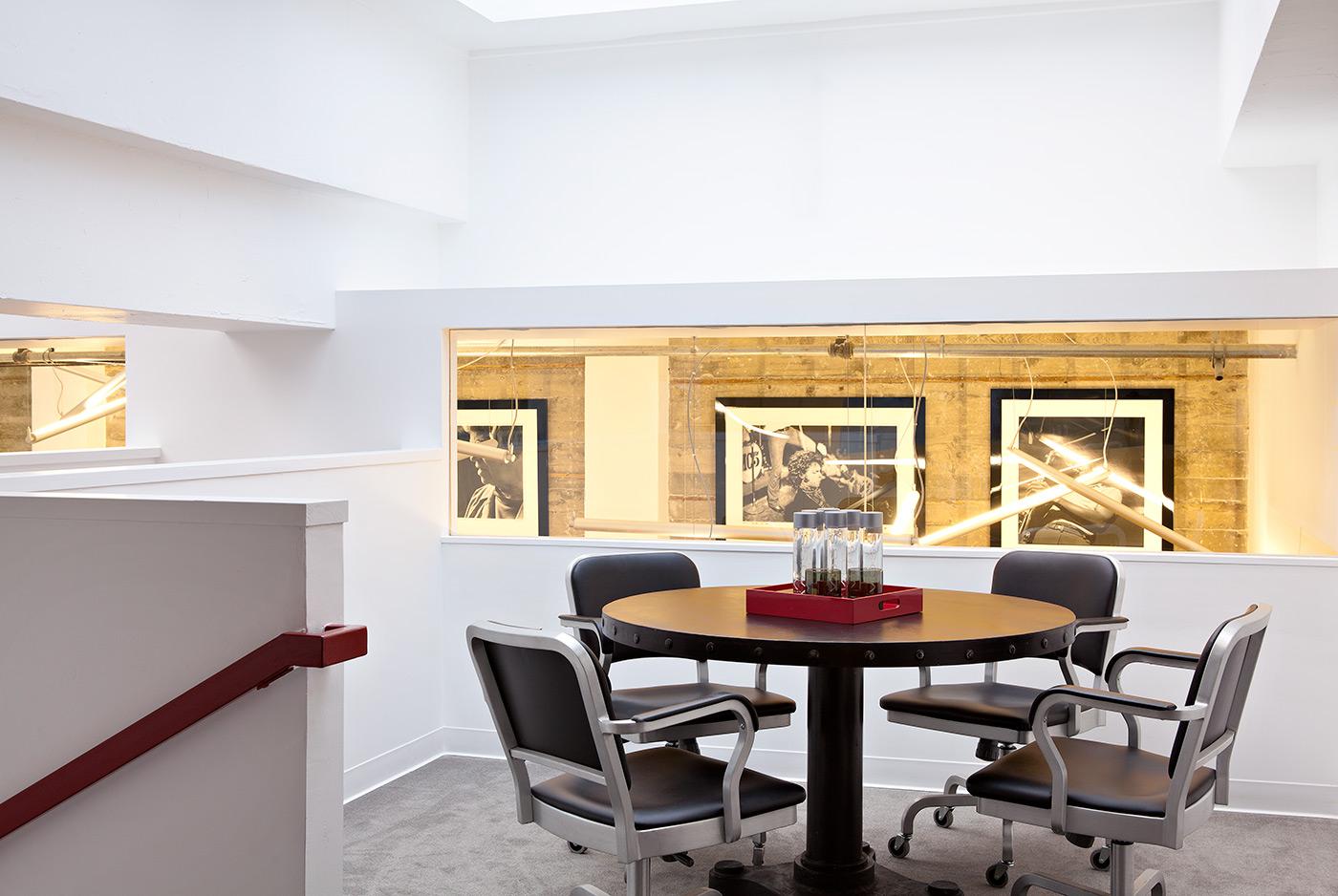 Office White Modern Loft Jennifer Gustafson SF Bay Designer