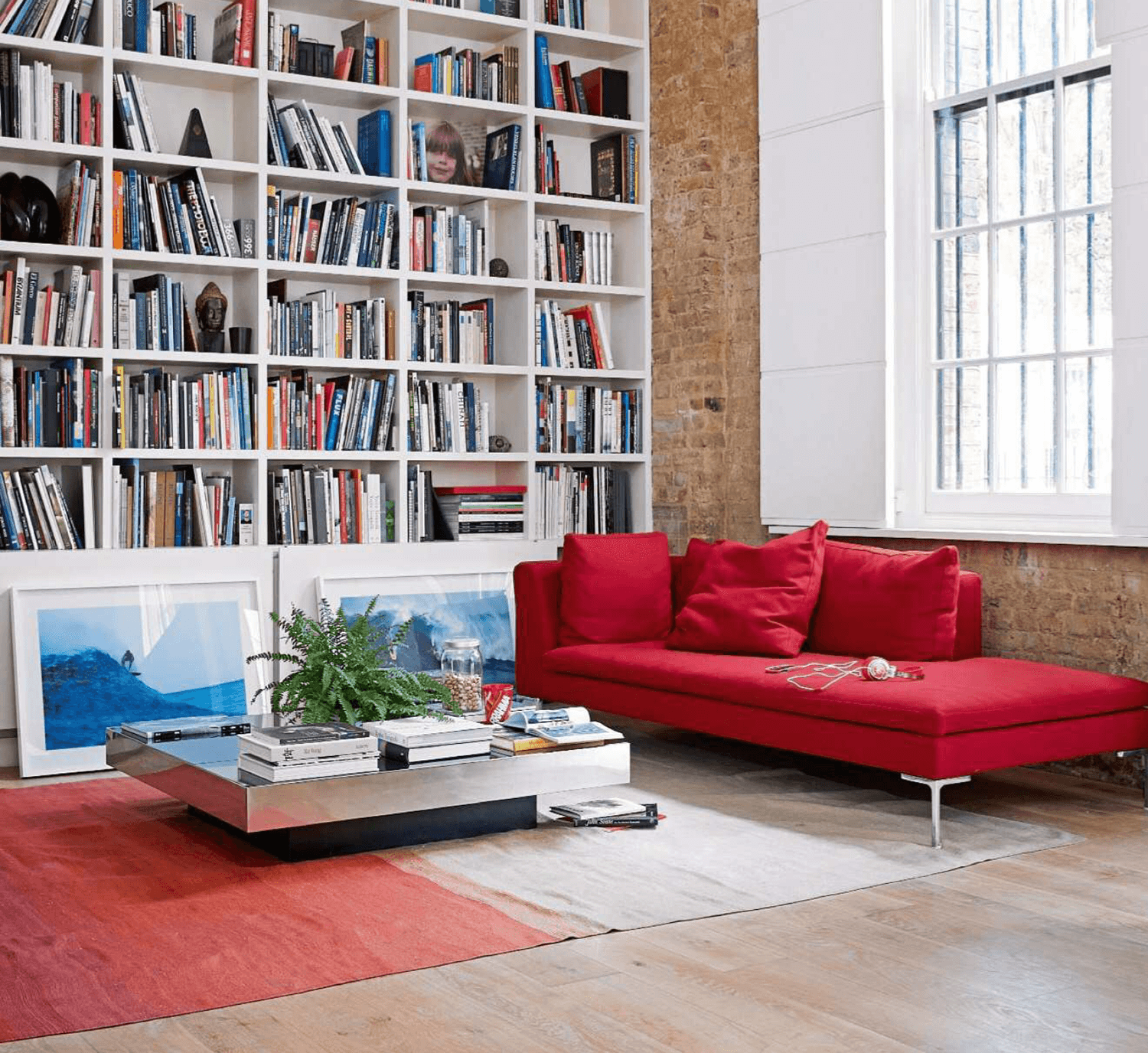 Living Room Red White Neutral Area Rug Living Etc. 10.14 Issue