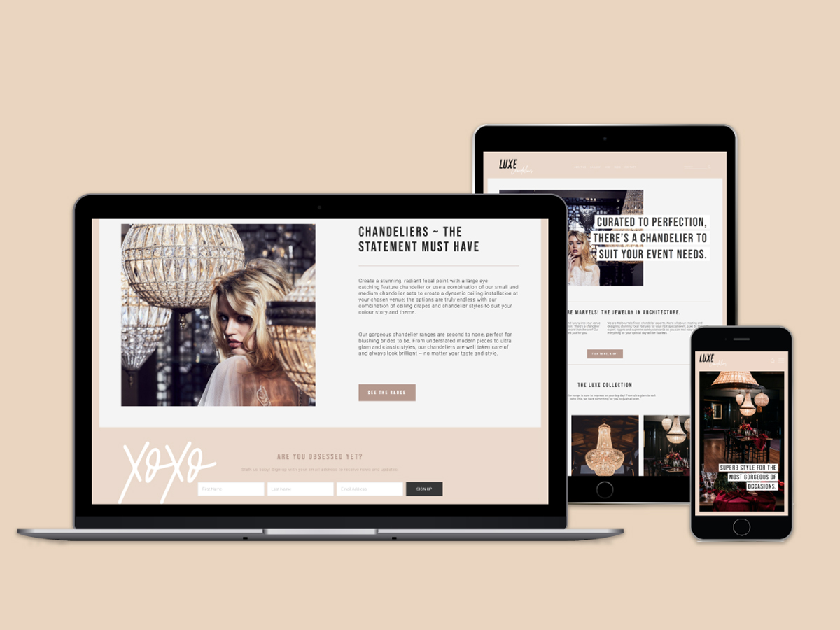 WEB DESIGN + SEO - Need a sexy website that sells? I've got you covered. I design, build + optimise your website so it can be seen by your people! Otherwise, what's the point? Did you know I write all the content too?! I'm a one stop designer website shop!