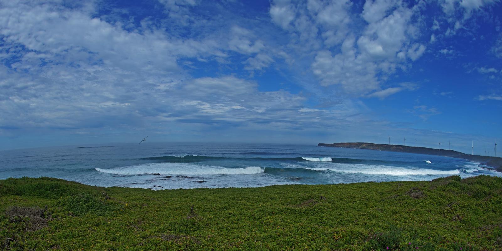 CAPE GRANT - Cape Sir William Grant and Grant Bays volcanic coastline.