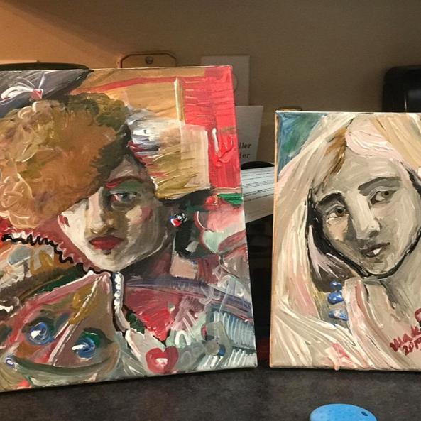 A few of Urszula Blaszak's recent paintings
