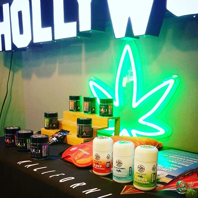 Lots of emails on where to find us in #hollywood here is @zenwesthollywood with our sister brand @kalifornia_krystle #caliweed #haveyouhadyourvitaminstoday #cannabiscommunity #thehelloplace
