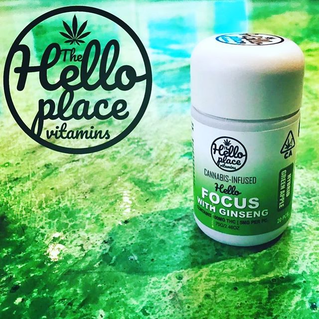 Focus on a wonderful day! #haveyouhadyourvitaminstoday #vitamincbd #cannabiscommunity #california #thehelloplace #hellofocus #focus #ginseng #edibles #canna