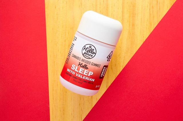 Can't sleep?!?! Waking up groggy?!? Try our new Valerian root with indica. It will knock you out #watchout without the hangover of heavy sleeping pills the next day! #valerian #hellosleep #thehelloplace #vitaminedibles #edibles #losangelesedibles #losangelesdispensary #dispensarylife #gummies #ediblegummies