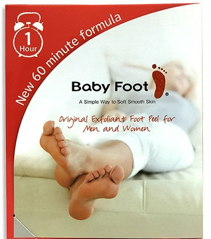 Baby Foot is a foot exfoliant for men and women