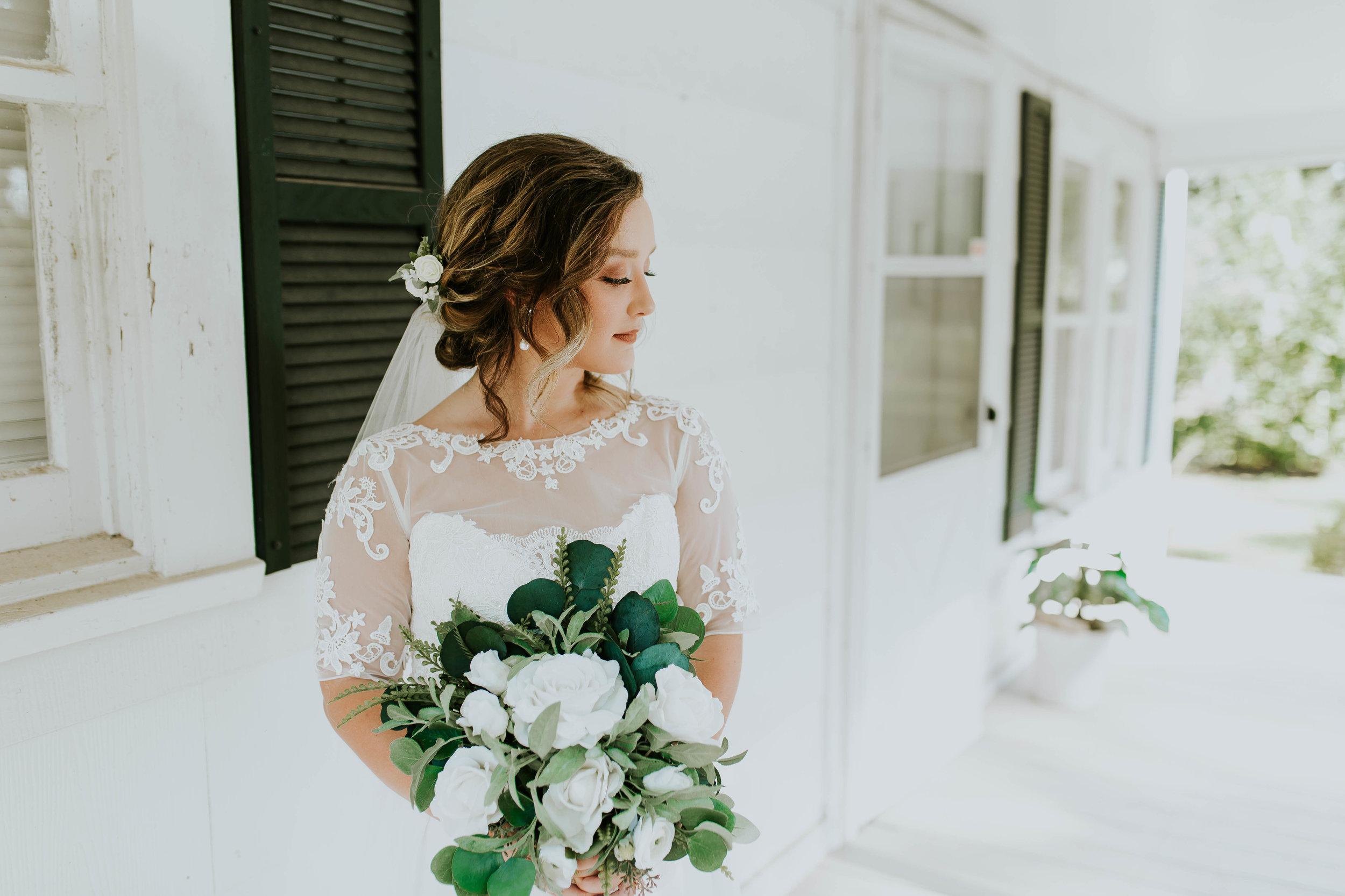 Wedding Dresses in Baton Rouge Photography