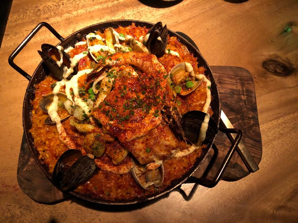 El Five- Paella dish