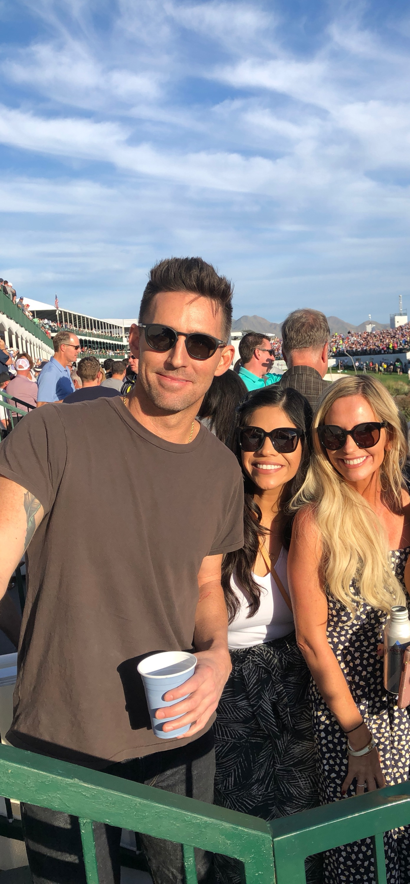 When Jake Owen is in the same Skybox as you….a picture is definitely necessary.