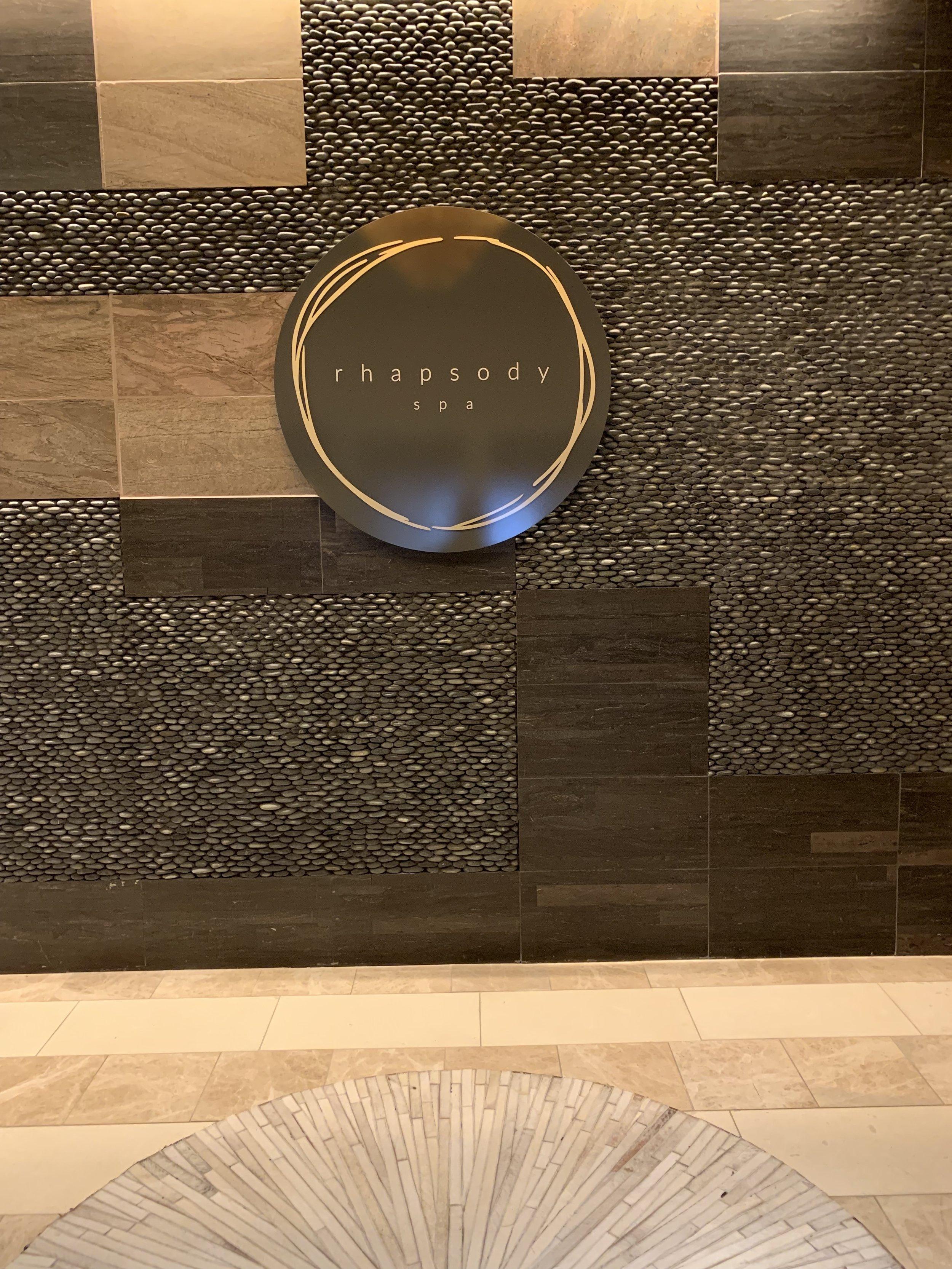Rhapsody Spa- inside of the Westin Nashville hotel, downtown