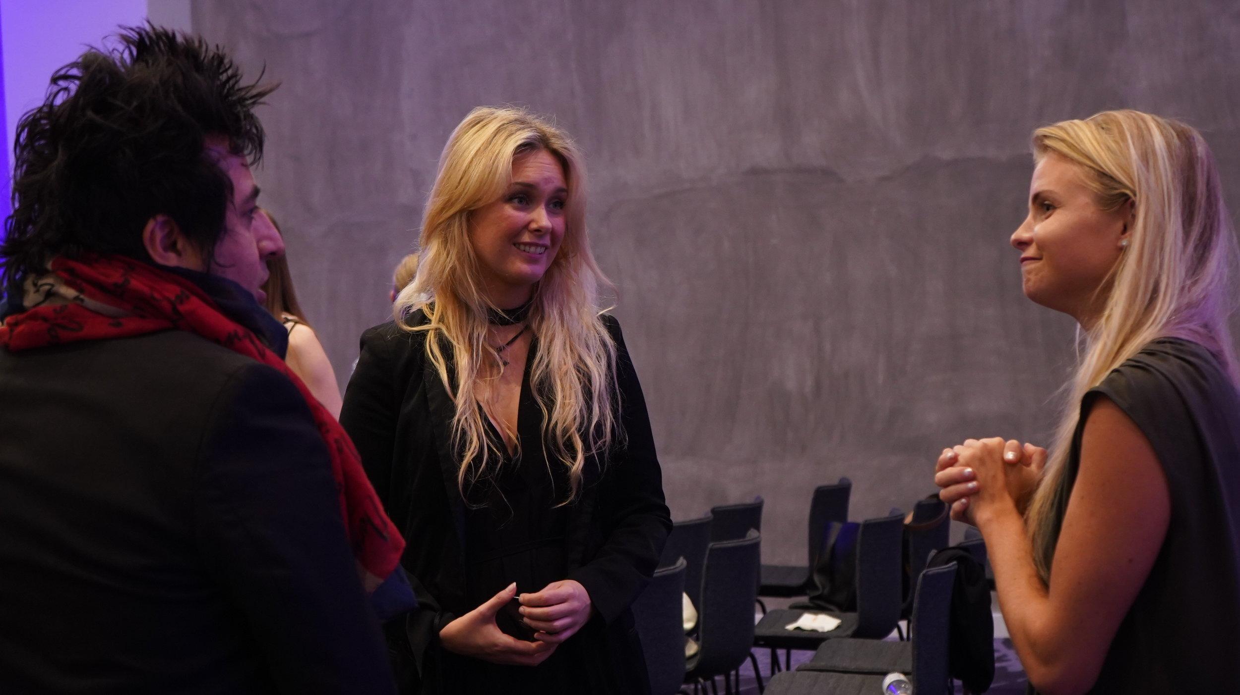 Christina and Kristina at Travel Summit 2019.JPG