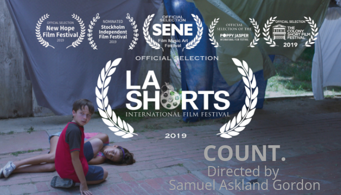 - July 30, 2019COUNT.Directed by Samuel Askland Gordon.When his protective sister is rushed to the hospital, a young boy must survive his strained relationship with his controlling brother.Count. is our Thesis film project as graduating students at The American Film Conservatory located in Los Angeles. It is the inspiring and emotional story of a young boy with OCD, trying to survive in a family that looks down upon him for his disability on the day his sister and guardian collapses.