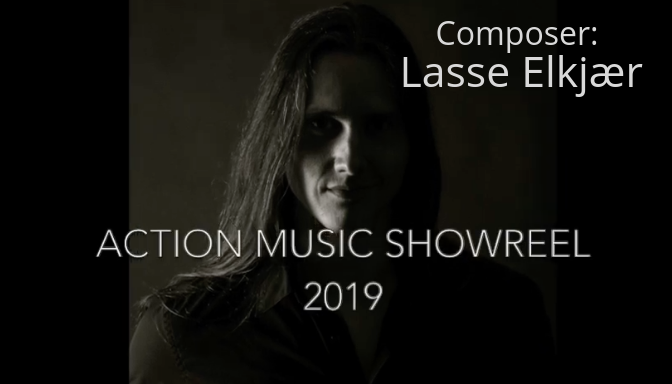 - July 30, 2019ACTION MUSIC SHOWREELComposer: Lasse Elkjær.Very excited to share my new Action Music Showreel. It's been a lot of fun to put this one together. Out of several tracks I chose, there's End Credit music from my award-winning score for the film Sticks and from the upcoming horror feature Voracious by director John Michael Elfers. I also brought out the guitar, with some industrial metal, and included cues recorded with the Budapest Art Orchestra.