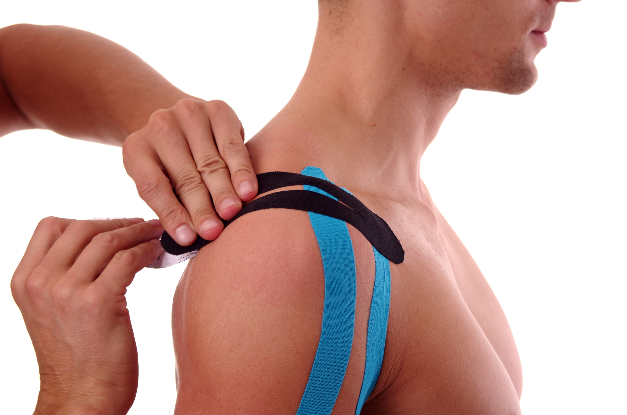 KINESIO TAPING - Rehabilitative Taping Technique Designed To Facilitate The Body's Natural Healing Process, While Providing Support And Stability To Muscles And Joints Without Restricting Range Of Motion.