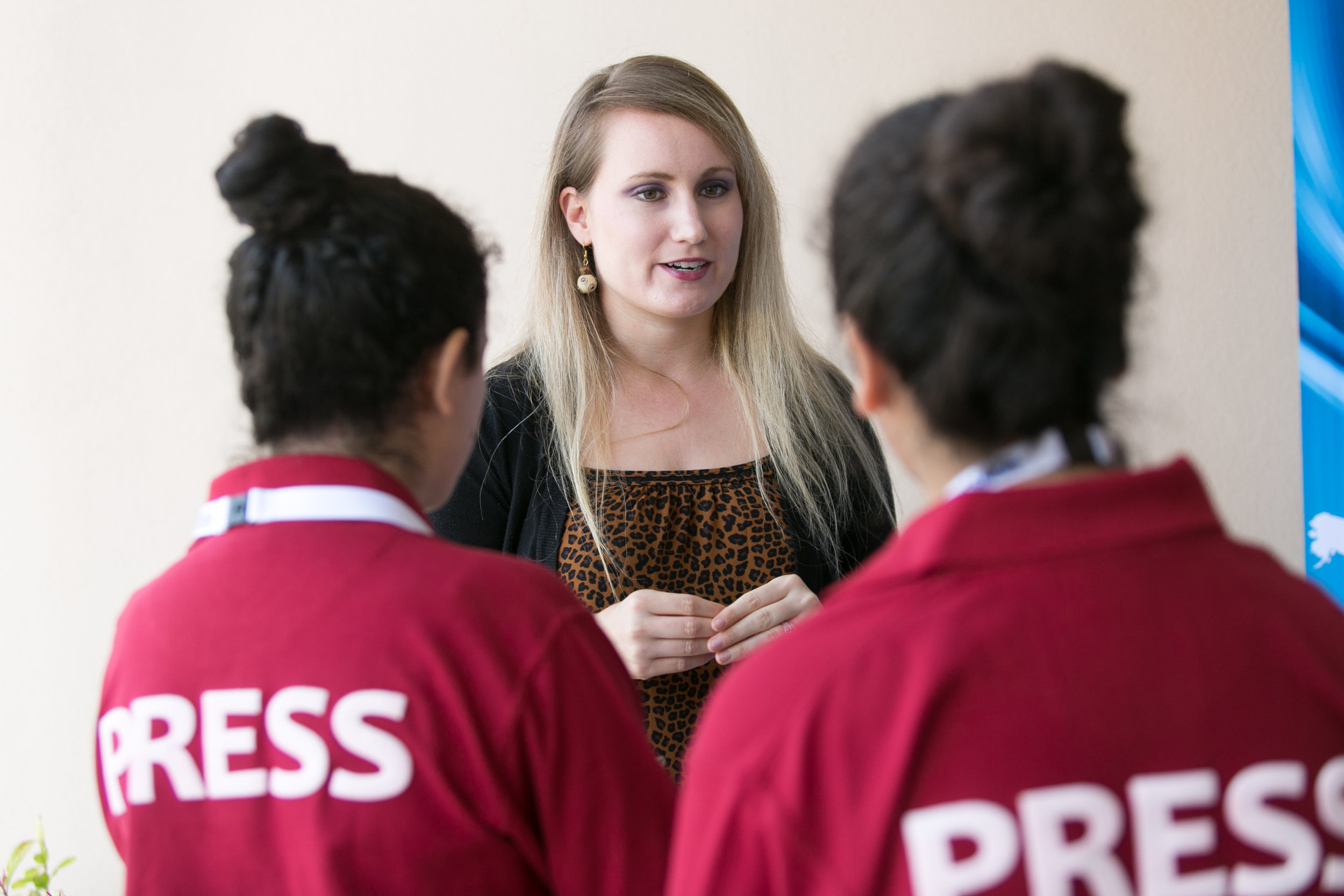 PHESMUN PRESS - The press team are an integral part at capturing the PHESMUN conference and the importance of the theme