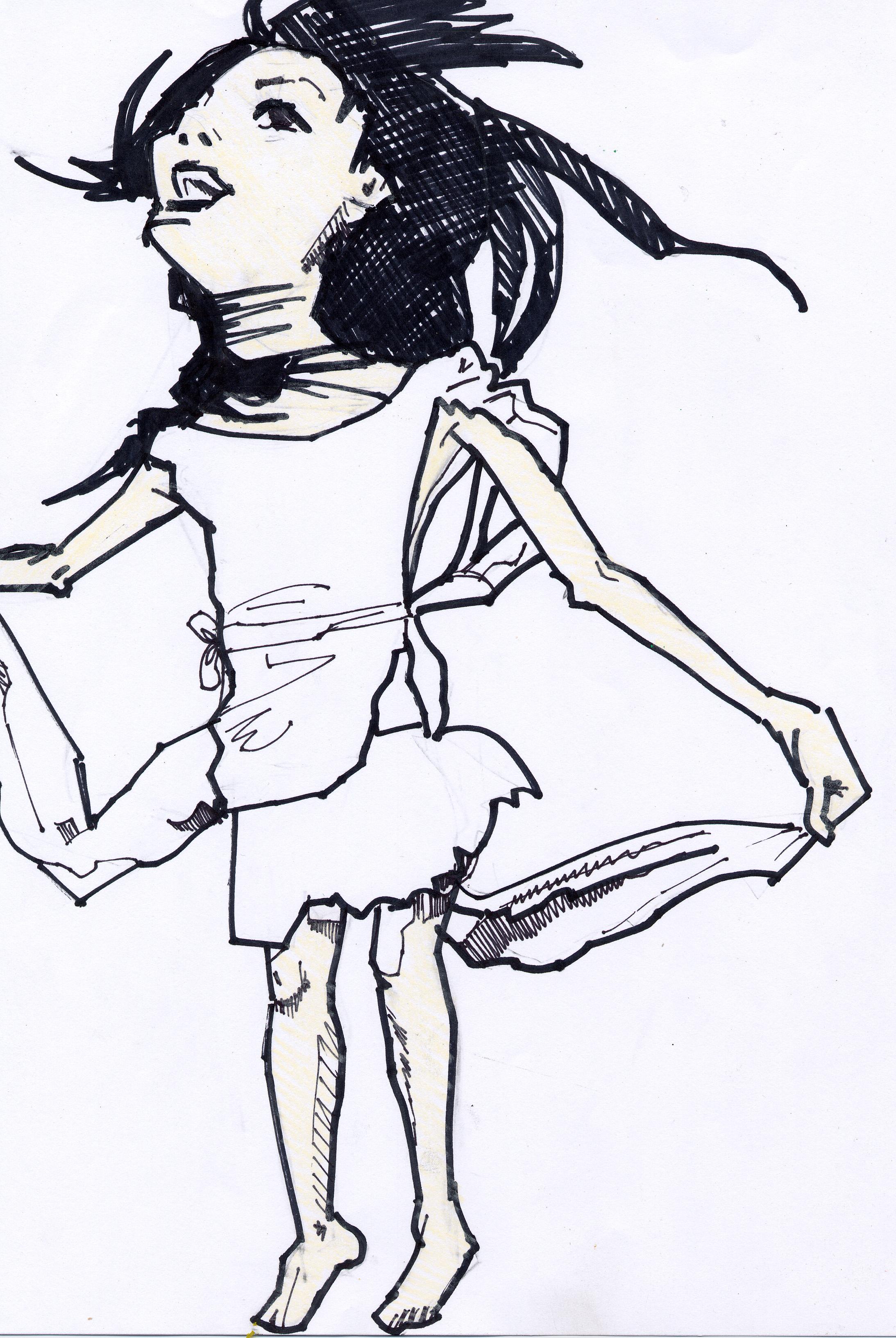 Flying Girl 2