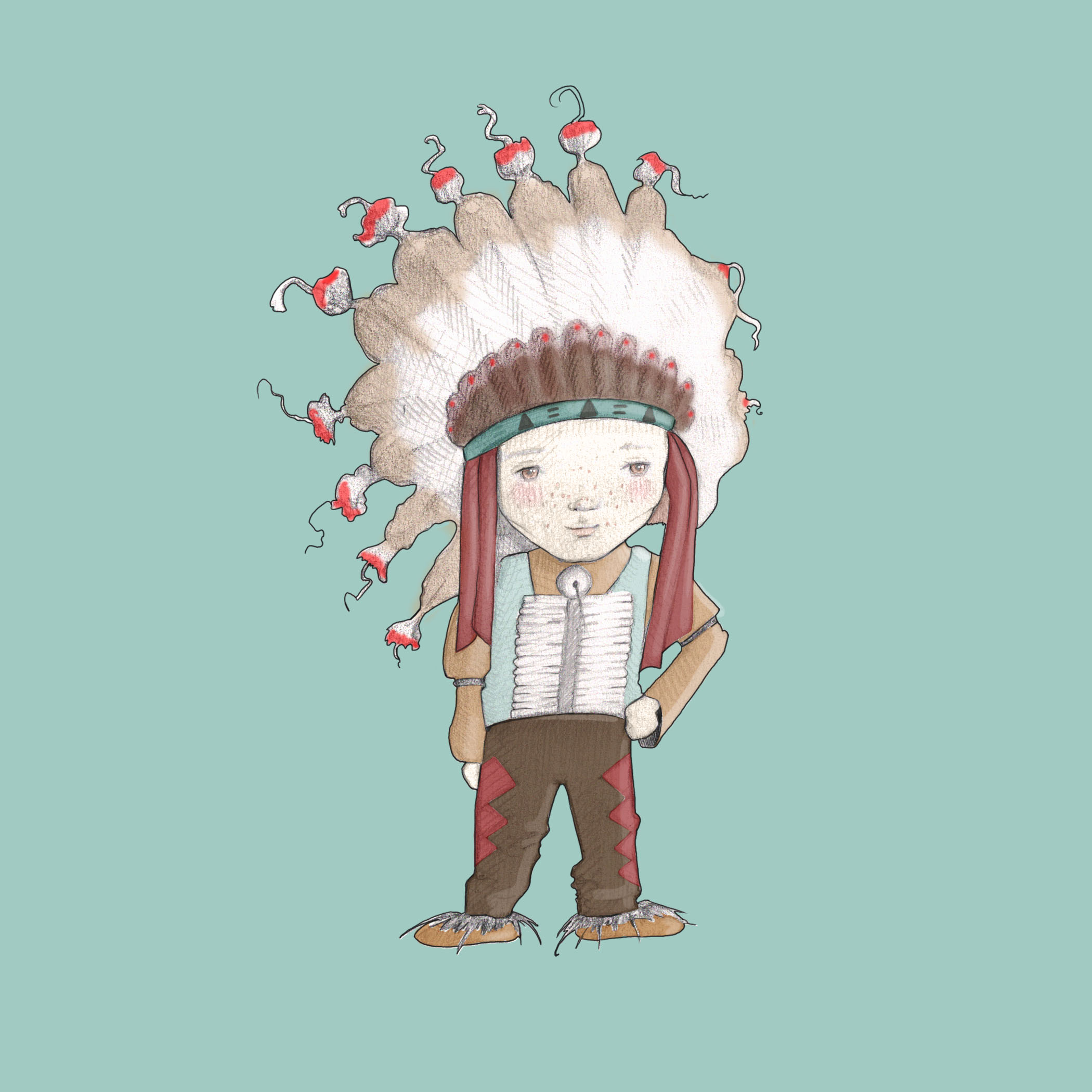 I am an indian chief