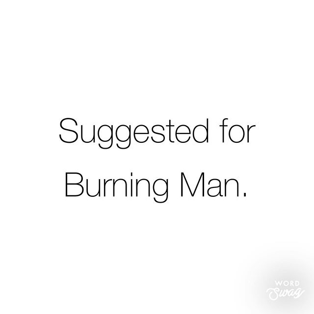 This week I will share some of my favorite Burning Man must-haves... Which happen to also be good for everyday life :) *** #Burningman #BurningMan2019 #Burners #Theplaya #brc