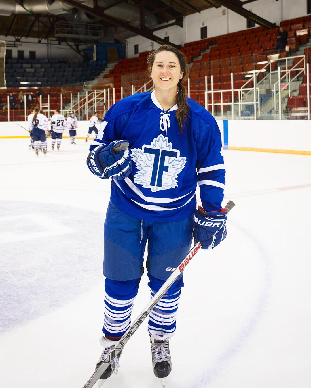 Anissa is a type 1 diabetic professional hockey player and scientific researcher.