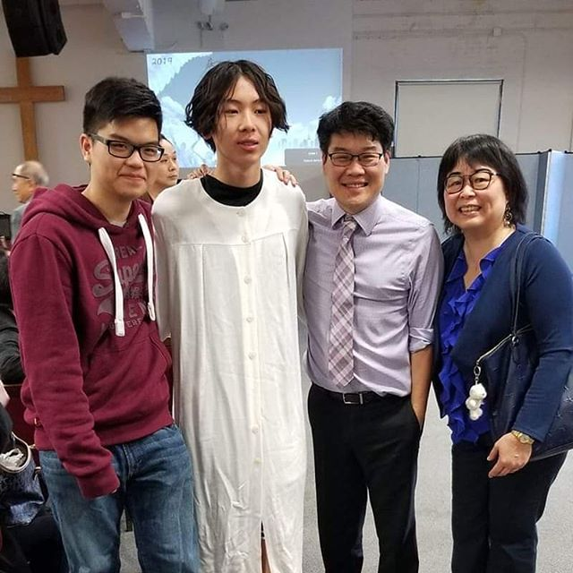 Easter Baptism: Congrats, Hugo!
