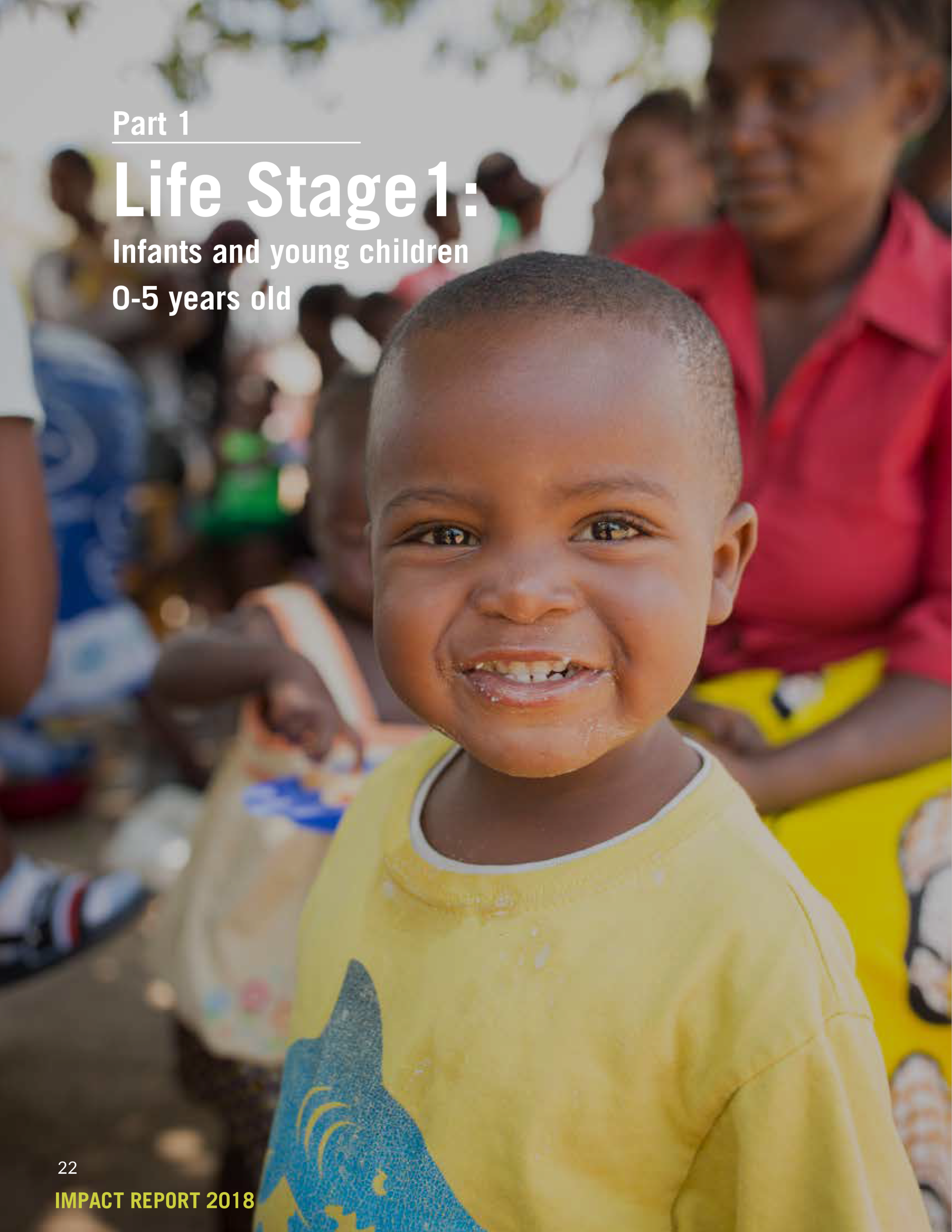 Life Stage 1:  Infants and young children 0-5 years old   (Print Version)
