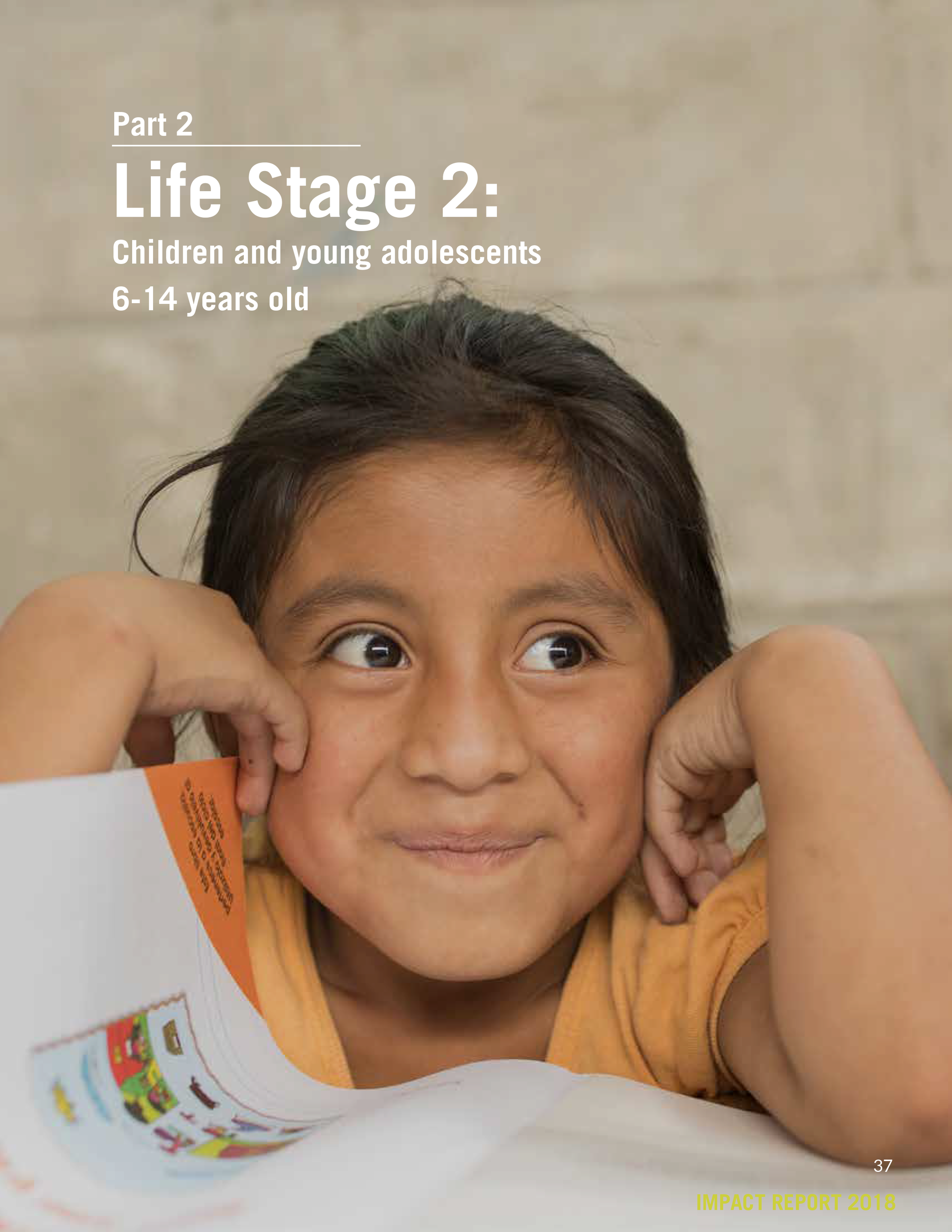 Life Stage 2:  Children and young adolescents 6-14 years old   (Print Version)