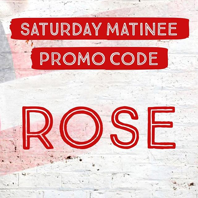 Interrupting Joel with a special promo for this Saturday's Matinee show at 2pm!  All tickets are $30 when you use Promo Code: ROSE Book now through the link in our bio and we will see you at the #DogfightAU!