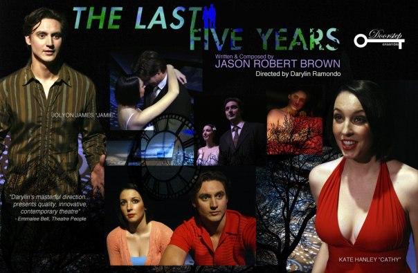 The Last Five Years, Doorstep Arts, Jolyon James, Kate Hanley