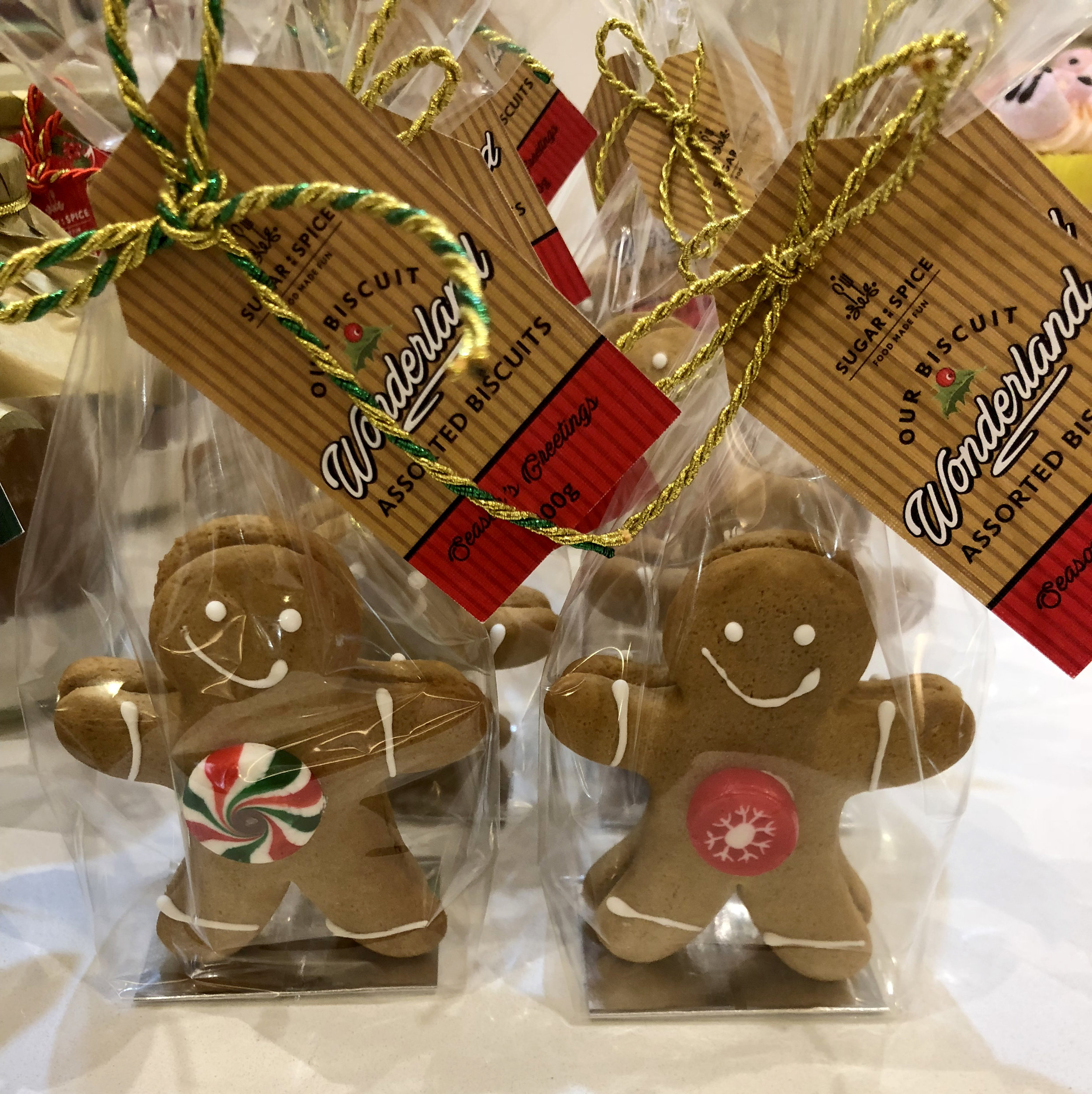 GINGER BREAD MEN: Ready to eat - or ready to share THIS FESTIVE SEASON!!! Makes for a great Stocking filler - in store NOW at $11.95.
