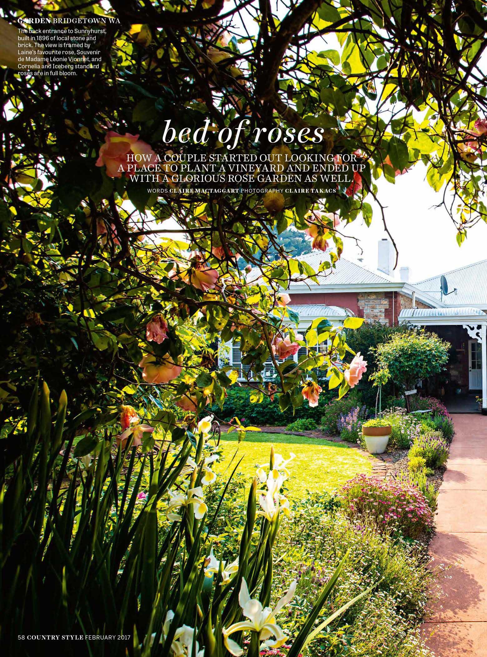 Country Style - February 2017   Bridgetown WA Garden