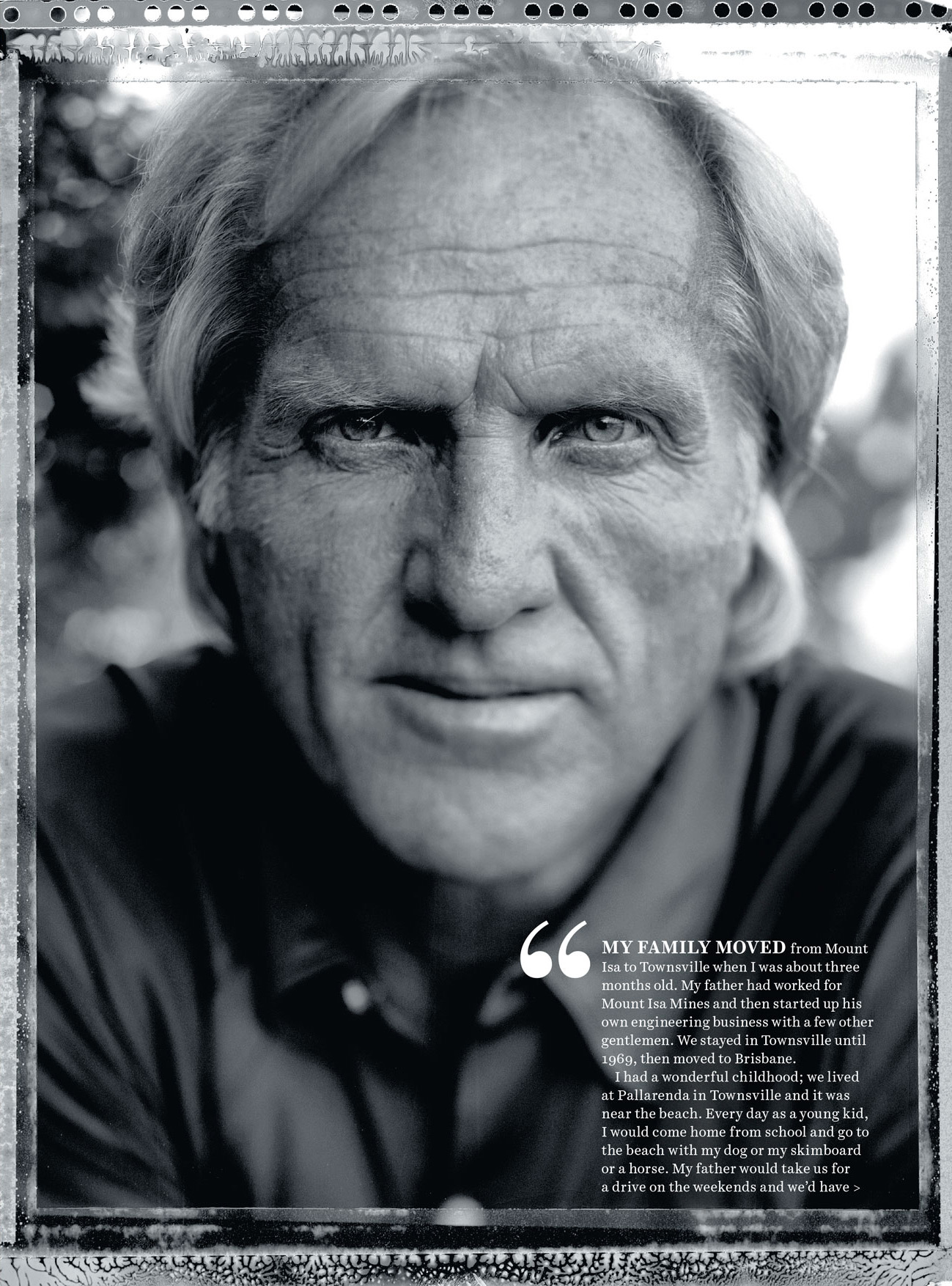 Country Style - September 2015   Greg Norman
