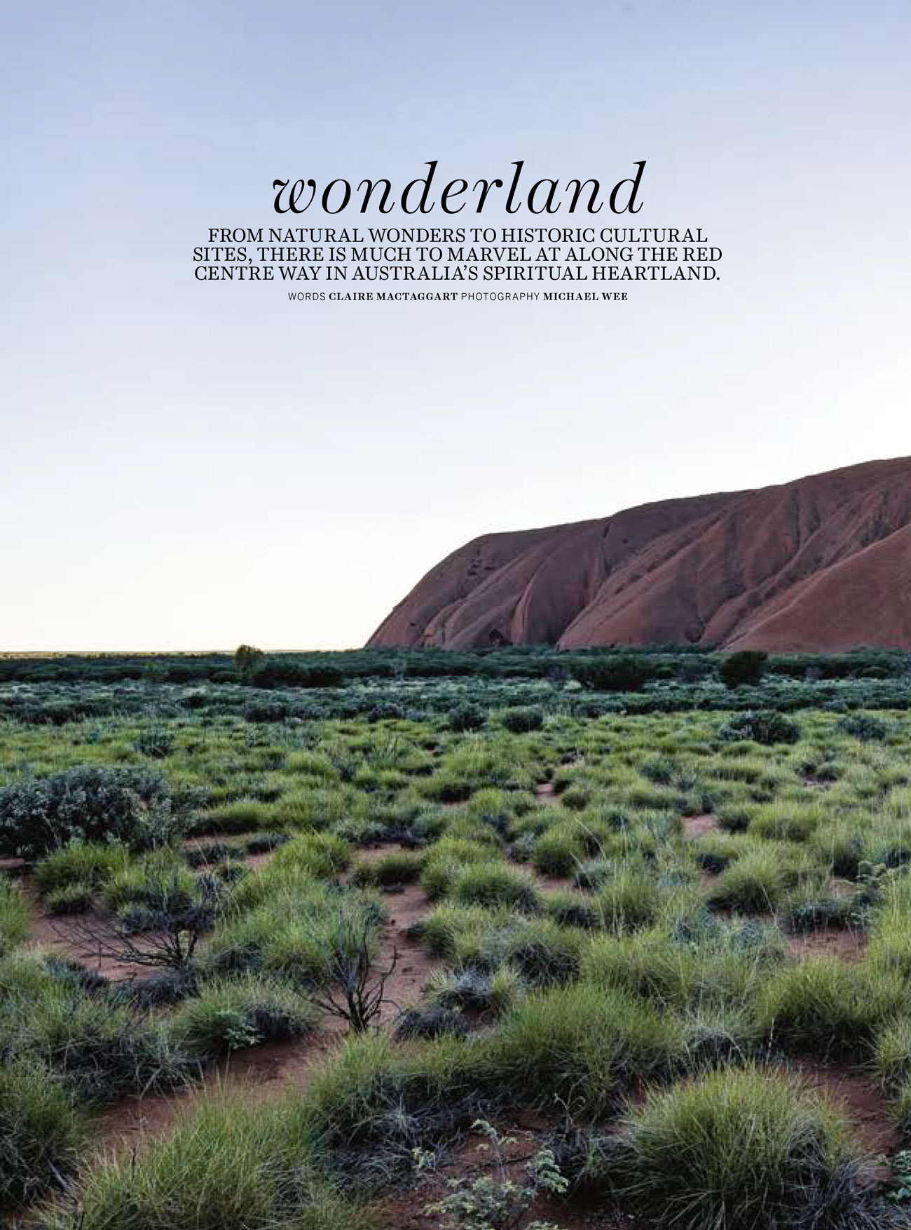 Country Style - May 2017  Red Centre Way NT