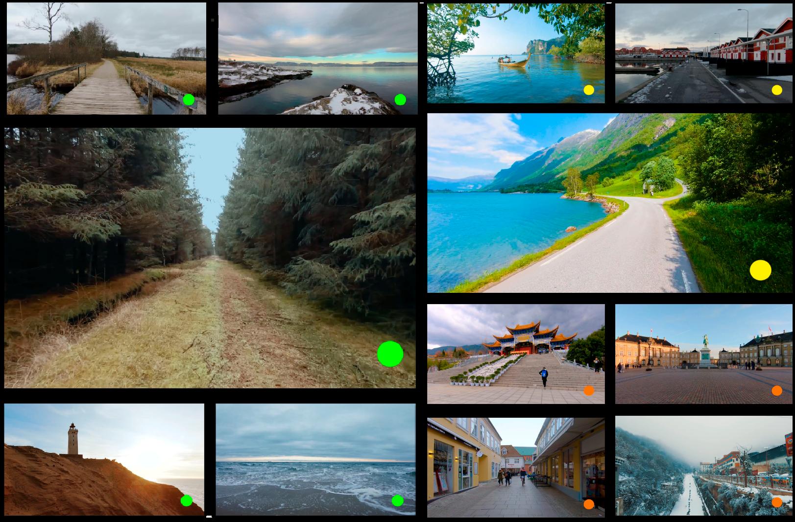 Nye videoer hver uge - Hver uge kommer helt nye videoer fra hele verden direkte til din stue!