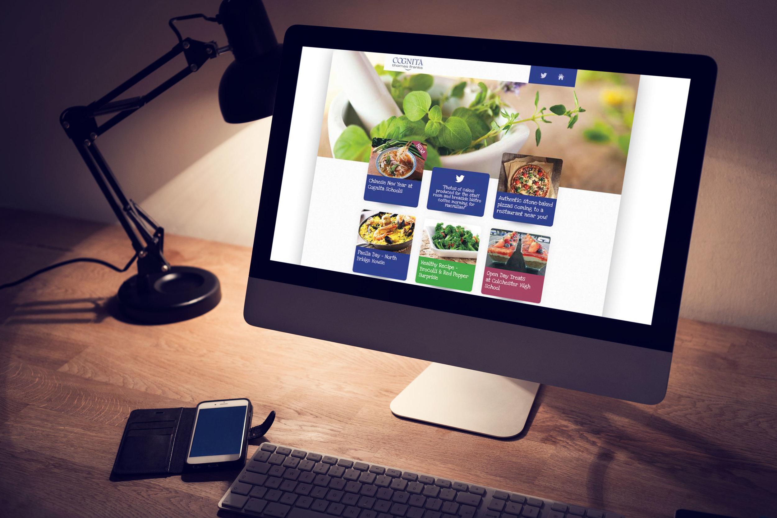 Graphic Design iMac Desktop
