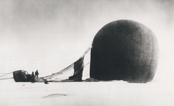 [Fig.1] NILS STRINDBERG Salomon August Andrée Polar Expedition, July 14th 1897 Courtesy Gränna Museum, Sweden