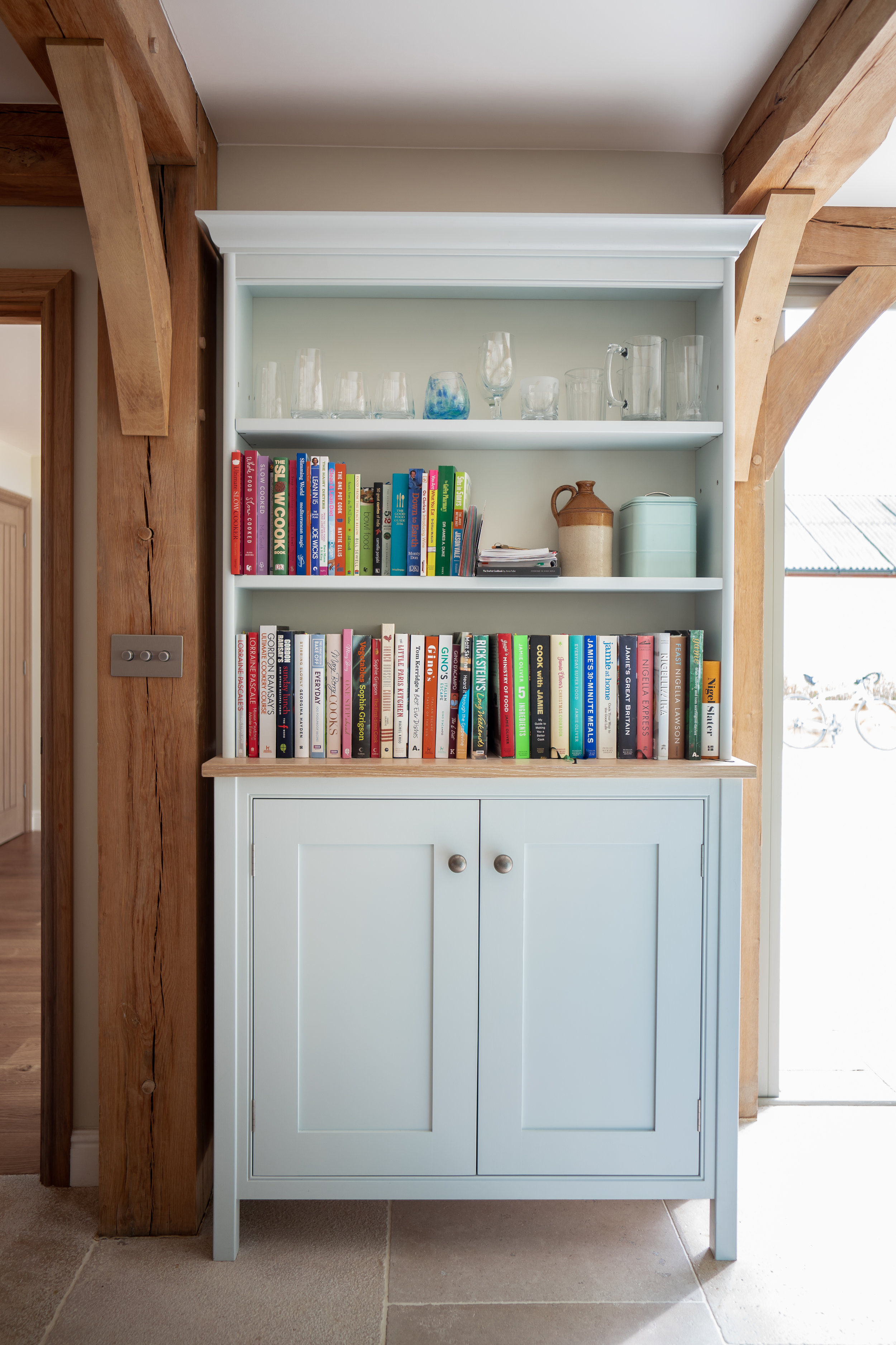 Book Cabinet - F&B Borrowed Light