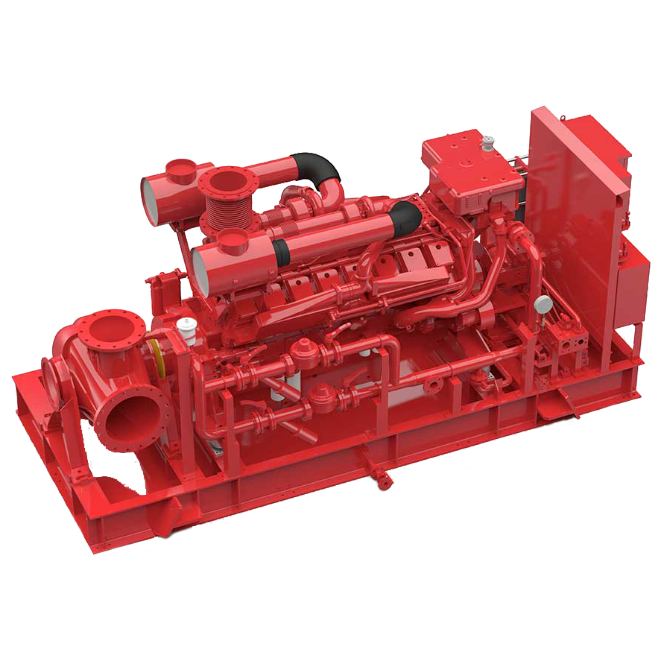 Hamworthy Firewater Pump Packages -