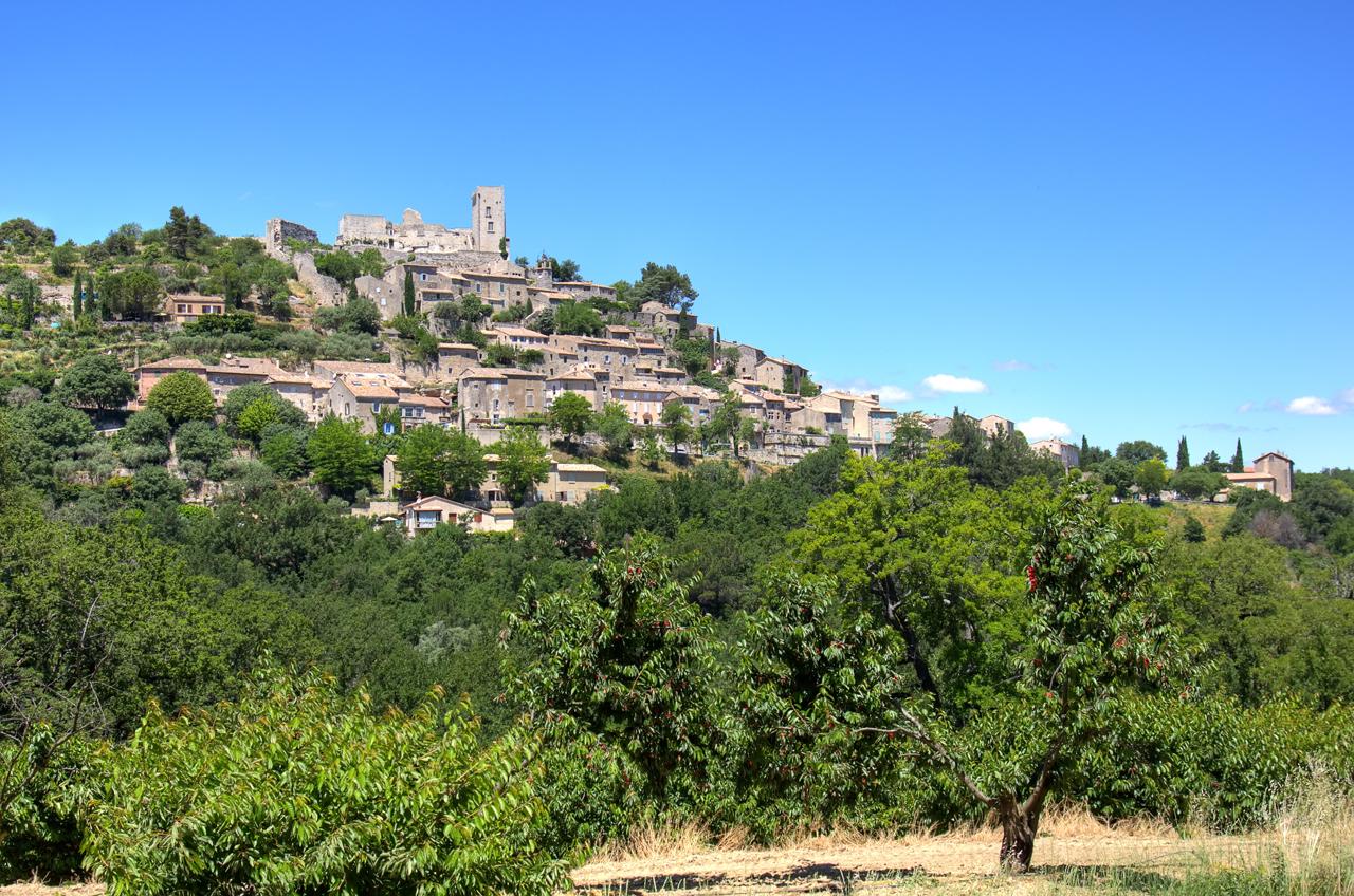 hilltop century old villages abound