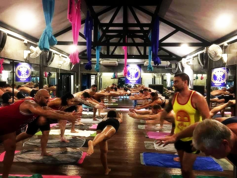 Hot Yoga Therapy Class